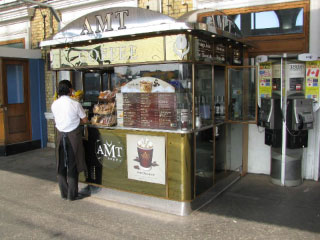 AMT Coffee Store Front