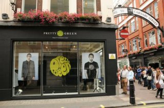 Pretty Green Store Front