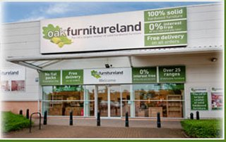 Oak Furniture Land Store Front